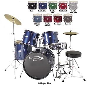 Percussion Pluss PP3500BK 5-Piece Drum Set