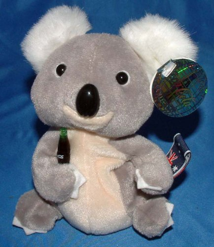 "Quala the Koala (Australia) Bean Bag 6"" - 1"