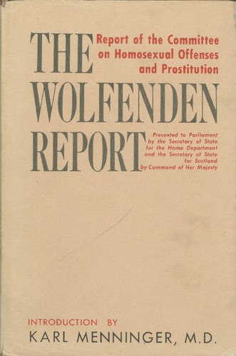 Wolfenden committee homosexuality in christianity