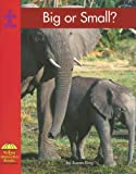 Big or Small? (Yellow Umbrella Math) (0736816925) by Ring, Susan