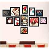 Swadesi Stuff Wooden Photo Frame Collage For Home Decor(11 Photo Frames) AP3