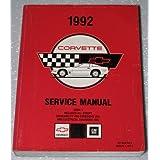 1992 Chevrolet Corvette Factory Service Manual (ZR-1, LT5, all, Volume 1)