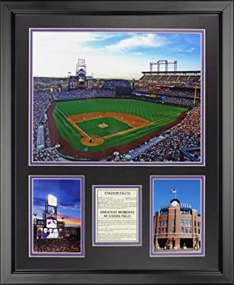 "Legends Never Die Colorado Rockies - Coors Field Framed Photo Collage, 16"" x 20"""