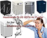 Austin Air Healthmate PLUS Air Purifier - For the Chemically Sensitive (Silver)