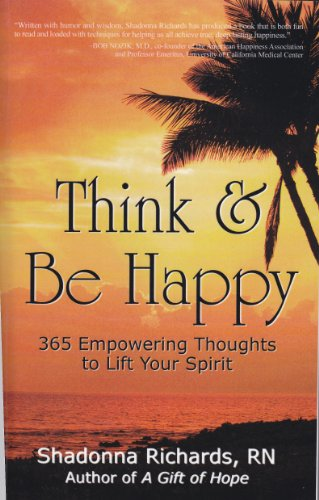 <strong>A Brand New Kindle Freebie! Shadonna Richards' <em>THINK AND BE HAPPY</em></strong>