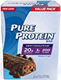 Pure Protein Chewy Chocolate Chip Bar, Value Pack, 6-Count, Net Wt. 10.58 oz.