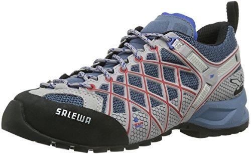 Salewa Ws Wildfire, Scarpe da Trekking da Donna, Blu (Blue Jeans/Poppy Red 8602), 37