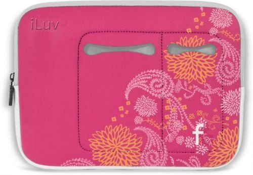 iLuv 9.7 Inch Neoprene Sleeve for iPad and iPad 2 - Floral
