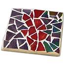 Jennifer's Mosaics Stained Glass Mosaic Coaster Kit, Makes 4 Coasters