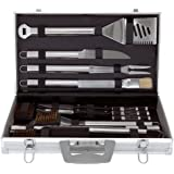Mr Bar B Q 02191 30-Piece Tool Set With Carrying Case, Garden, Lawn, Maintenance
