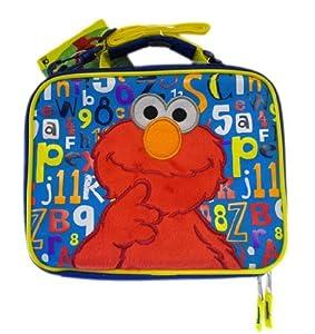 La Boîte de Déjeuner d'Elmo - la Rue de Sésame A Isolé le Sac de Déjeuner