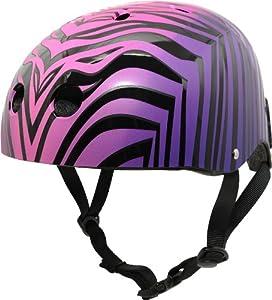 Krash The Wild Ones SK8 Helmet, Youth 8+ Years, Purple by Krash