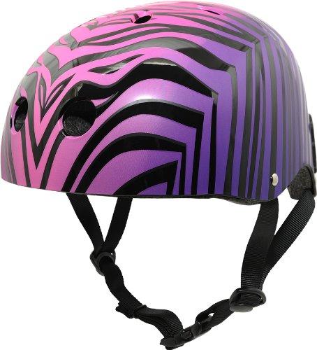 Krash The Wild Ones Sk8 Helmet, Youth 8+ Years, Purple
