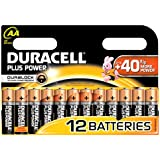 Duracell Duralock Plus Power AA (LR6) Batteries Pack of 12