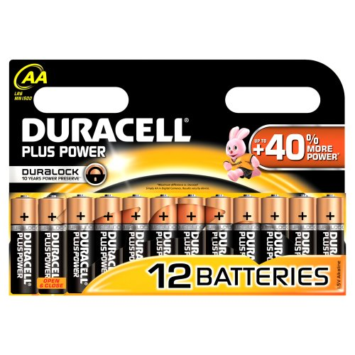 Duracell Plus Power  Batterie AA