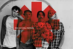 Red Hot Chili Peppers Red Asterix Maxi Poster, Multi-Colour
