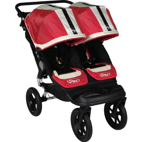 Baby Jogger City Elite Double Stroller Red Sport City