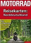 Motorrad-Reisekarte Norddeutschland