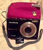 Olympus X-42 Digital Camera 12 MP 5x Optical Zoom - Pink