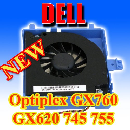 Dell OptiPlex GX620 745 755 760 USFF Hard Drive HDD Cooling Fan w/ Bracket DW016 (Hard Drive Cooling compare prices)