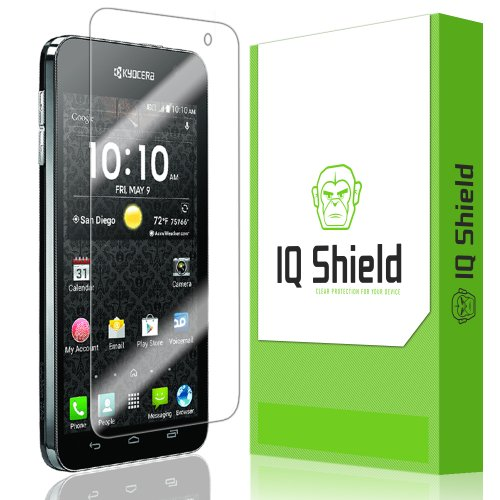 Iq Shield Liquidskin - Kyocera Hydro Vibe Screen Protector With Lifetime Replacement Warranty - High Definition (Hd) Ultra Clear Smart Film - Premium Protective Screen Guard - Extremely Smooth / Self-Healing / Bubble-Free Shield - Kit Comes In Frustration