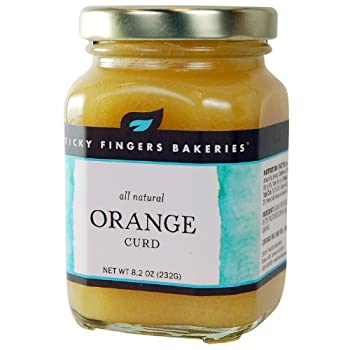 Sticky Fingers Orange Curd