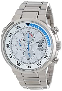 """Citizen Men's CA0440-51A """"Endeavor"""" Stainless Steel Eco-Drive Watch"""