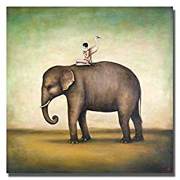 Eternal Companions by Duy Huynh Custom Gallery-Wrapped Canvas Giclee Art (Ready to Hang)