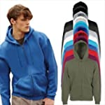 Fruit of the Loom - Hooded Sweat Jack...