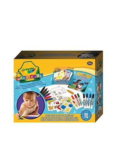 Crayola Mini Kids Mi Primer Set De Colorear Y De Pegatinas