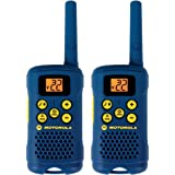 Motorola MG160A 16-Mile Range 22-Channel FRS/GMRS Pair of Two-Way Radio (Light blue)