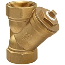 Flexicraft YBT Bronze Wye Strainer with Thread End, 1-1/2&#034; ID x 6-1/4&#034; Length
