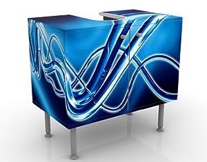 mantiburi Design - Floor Unit for Washbasin - Equalizer - 60 x 55 x 35 cm - Mirror-Inverted