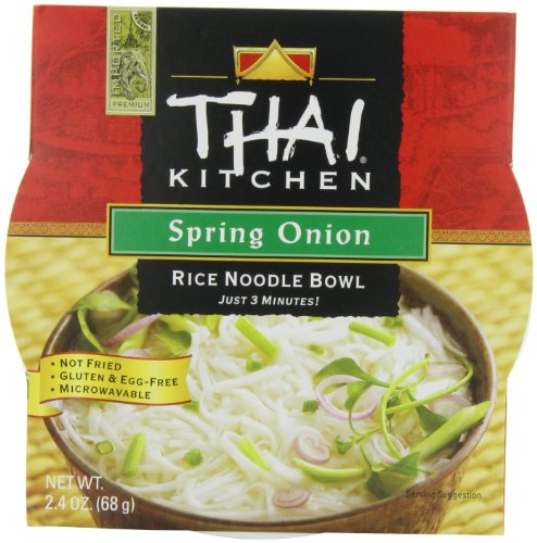 Thai Kitchen Rice Noodle Soup Bowl, Spring Onion, 2.4 Ounce (Pack of 6) (Thai Soup Mix compare prices)