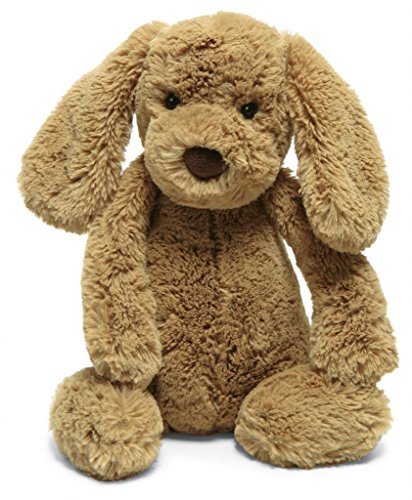 Jellycat Bashful Toffee Puppy, Medium – 12″