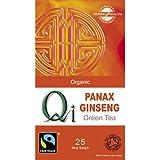 Qi Organic Green Tea & Ginseng 25 Bag - CLF-QI-OGS40