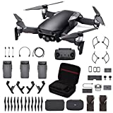 DJI Mavic Air Fly More Combo, Onyx Black (2018 Version), Professional Case, Landing Gear and More (Color: Onyx Black)