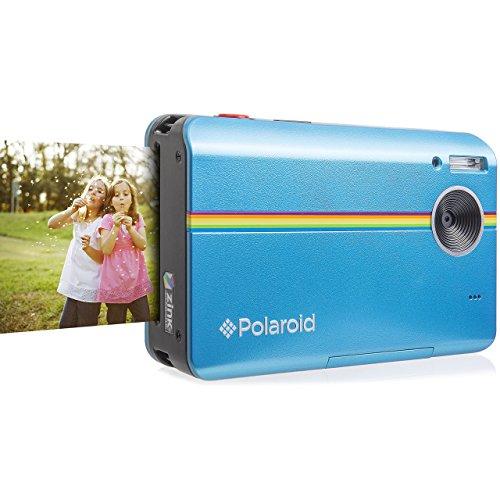 Polaroid Z2300 10MP (1000万画素) デジタルインスタントプリントカメラ (ブルー)