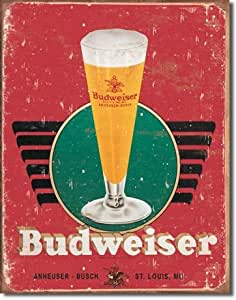"""Budweiser - Retro"""" - Artwork/Sign Is Paint On Metal [TSFD]: Home"""