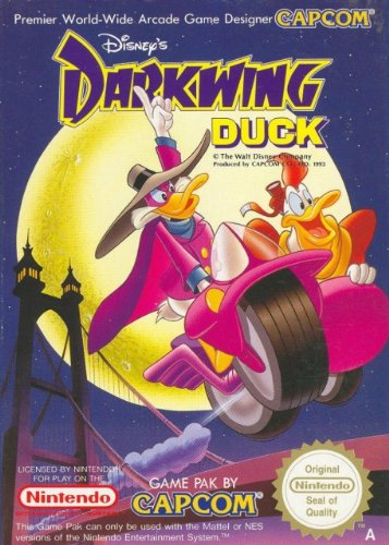 Darkwing Duck - Nintendo Nes front-266186