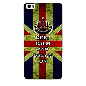 Skin4gadgets Keep Calm and DREAM ON - Colour - UK Flag Phone Skin for XIAOMI REDMI NOTE PRO