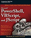 img - for Microsoft PowerShell, VBScript and JScript Bible book / textbook / text book