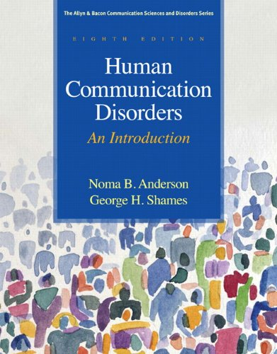 Human Communication Disorders: An Introduction (8th...