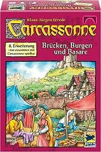"""Hans im Glück 48201 - Carcassonne 8. Erweiterung """"Burgen und Brücken"""""""