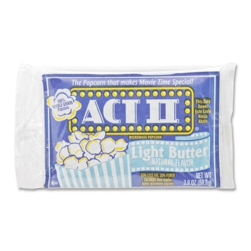 Act II Microwave The Classic Light Butter Popcorn, 2.75 Ounce -- 36 per case. (Microwavable Popcorn Bulk compare prices)