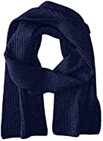 Williams Cashmere Men's Cashmere Solid Knit Scarf