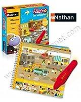 Nathan - 31457 - Jeu Électronique - Electro Livre - Les Véhicules