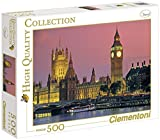 Clementoni 30378.6 Jigsaw Puzzle with London Design 500 Pieces
