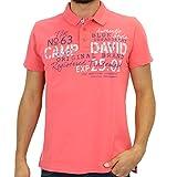 CCU 5555 3187 SR|Camp david Polo Sunset Red|M