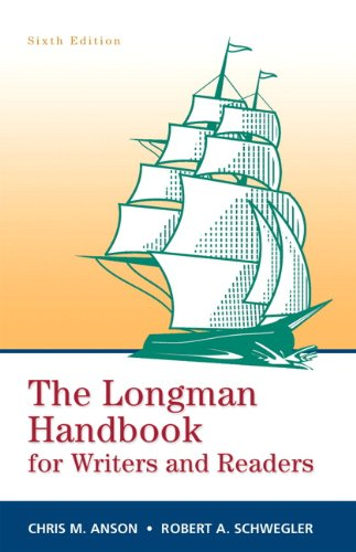 Longman Handbook for Writers and Readers, The (paperbk)...